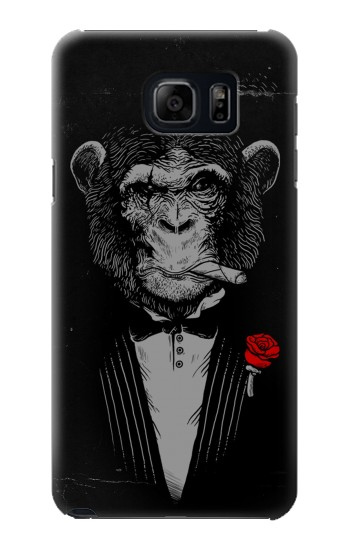 Printed Funny Monkey God Father Samsung Note 5 Case