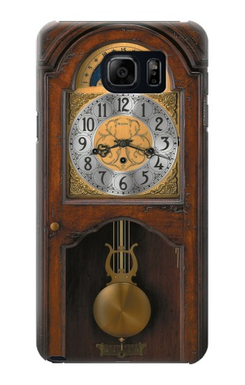 Printed Grandfather Clock Antique Wall Clock Samsung Note 5 Case