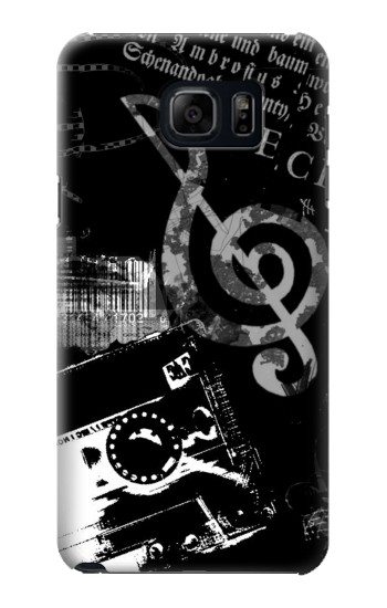 Printed Music Cassette Note Samsung Note 5 Case