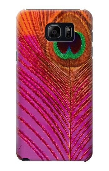 Printed Pink Peacock Feather Samsung Note 5 Case