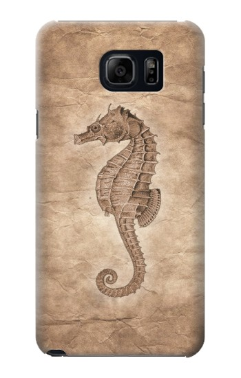 Printed Seahorse Old Paper Samsung Note 5 Case