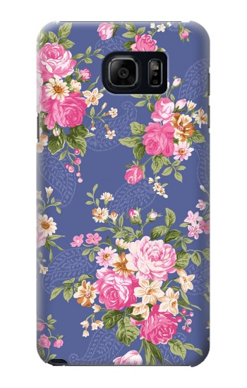 Printed Vintage Flower Pattern Samsung Note 5 Case
