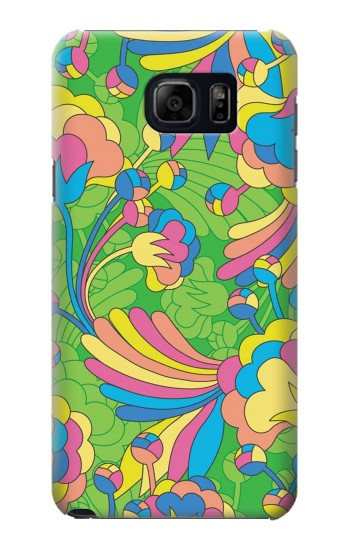 Printed Flower Line Art Pattern Samsung Note 5 Case