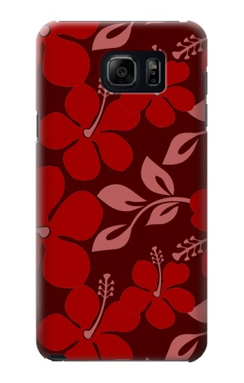 Printed Hawaii Dark Red Pattern Samsung Note 5 Case
