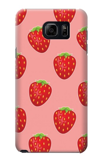 Printed Strawberry Fruit Pattern Samsung Note 5 Case