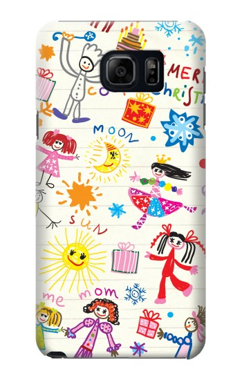 Printed Kids Drawing Samsung Note 5 Case