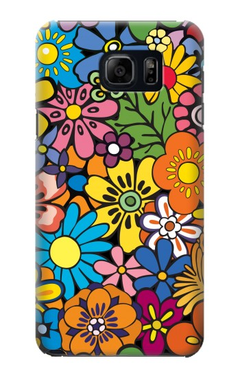 Printed Colorful Flowers Pattern Samsung Note 5 Case