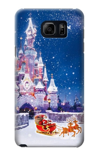Printed Santa Xmas Castle Samsung Note 5 Case