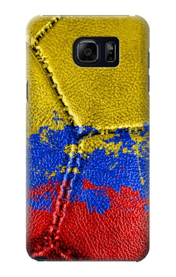 Printed Colombia Flag Vintage Football 2018 Samsung Note 5 Case