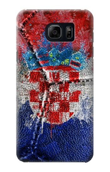 Printed Croatia Flag Vintage Football 2018 Samsung Note 5 Case
