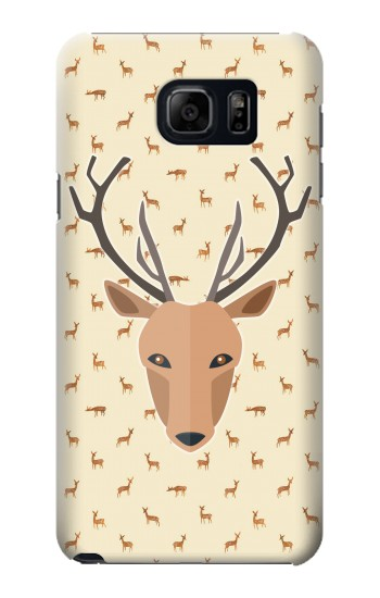 Printed Deer Pattern Samsung Note 5 Case