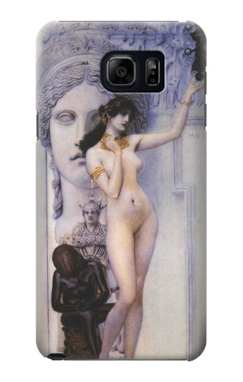 Printed Gustav Klimt Allegory of Sculpture Samsung Note 5 Case