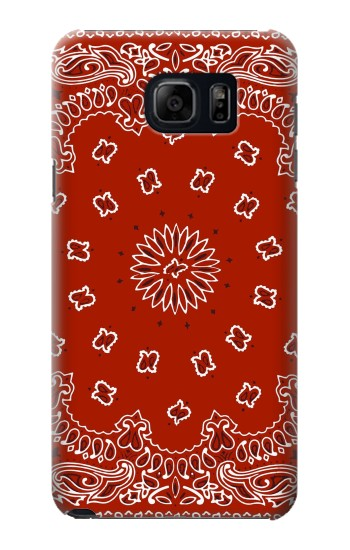 Printed Bandana Red Pattern Samsung Note 5 Case