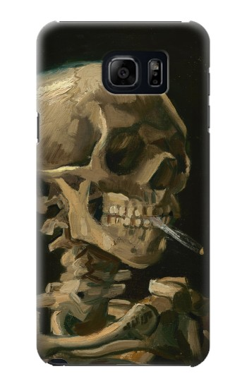 Printed Vincent Van Gogh Head Skeleton Cigarette Samsung Note 5 Case