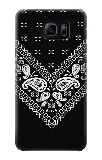 Printed Bandana Black Pattern Samsung Note 5 Case