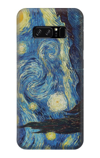 Printed Van Gogh Starry Nights HTC Desire 320 Case
