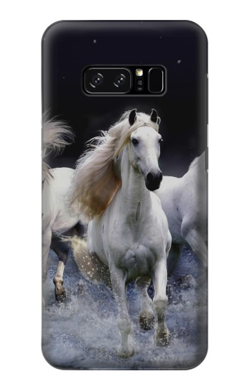Printed White Horse HTC Desire 320 Case