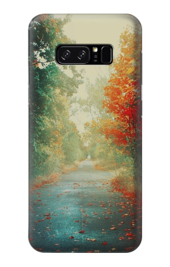 Printed Road Through The Woods HTC Desire 320 Case