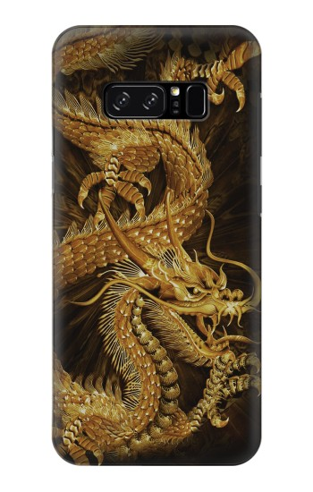 Printed Chinese Gold Dragon Printed HTC Desire 320 Case
