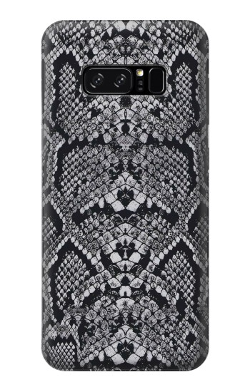 Printed White Rattle Snake Skin HTC Desire 320 Case
