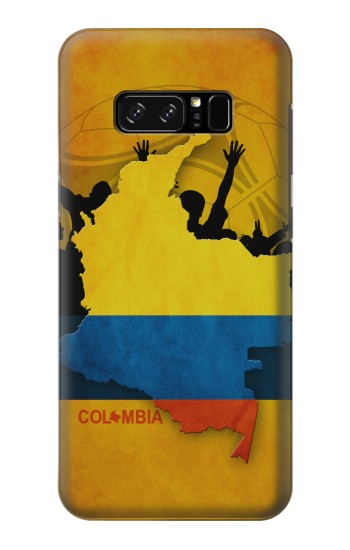 Printed Colombia Football Flag HTC Desire 320 Case