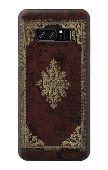 Printed Vintage Map Book Cover HTC Desire 320 Case