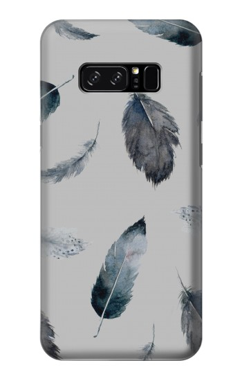 Printed Feather Paint Pattern HTC Desire 320 Case
