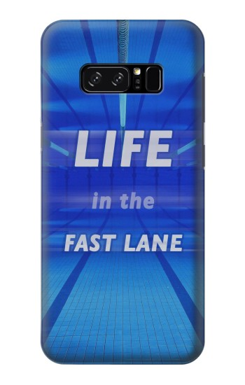 Printed Life in the Fast Lane Swimming Pool HTC Desire 320 Case
