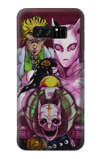 Printed Jojo Bizarre Adventure Kira Yoshikage Killer Queen HTC Desire 320 Case