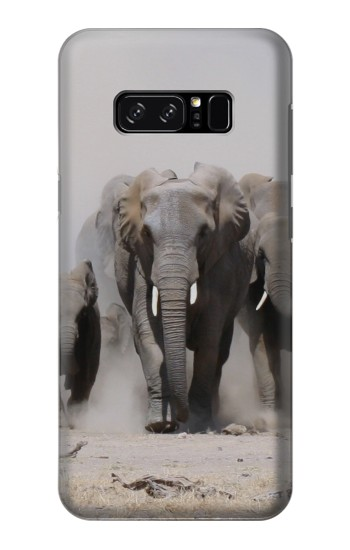 Printed African Elephant HTC Desire 320 Case