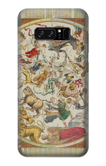 Printed Antique Constellation Map HTC Desire 320 Case
