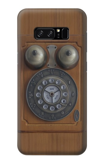 Printed Antique Wall Phone HTC Desire 320 Case