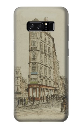 Printed Boulevards of Paris HTC Desire 320 Case