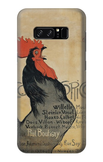 Printed Cocorico Rooster Vintage French Poster HTC Desire 320 Case