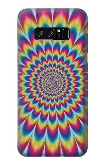 Printed Colorful Psychedelic HTC Desire 320 Case
