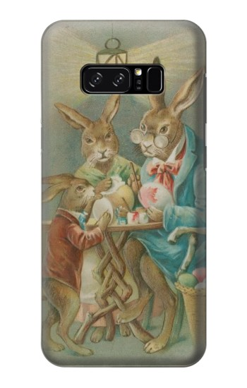 Printed Easter Rabbit Family HTC Desire 320 Case