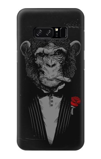 Printed Funny Monkey God Father HTC Desire 320 Case