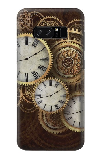 Printed Gold Clock Live HTC Desire 320 Case