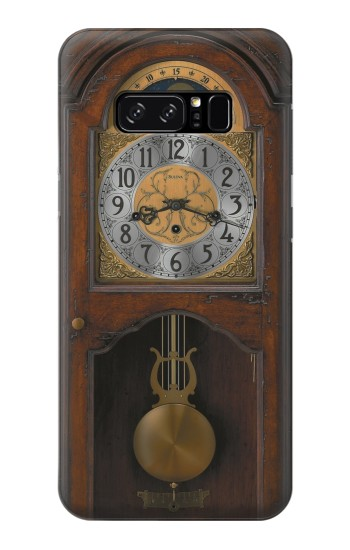 Printed Grandfather Clock Antique Wall Clock HTC Desire 320 Case