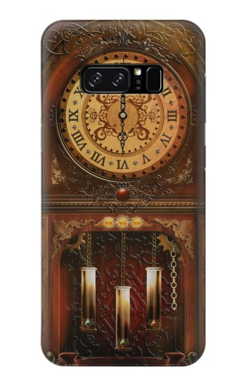 Printed Grandfather Clock HTC Desire 320 Case