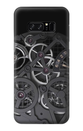 Printed Inside Watch Black HTC Desire 320 Case