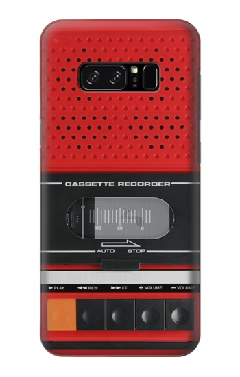 Printed Red Cassette Recorder Graphic HTC Desire 320 Case