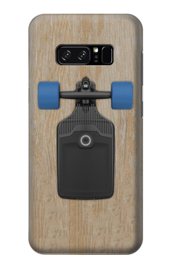 Printed Skateboard HTC Desire 320 Case