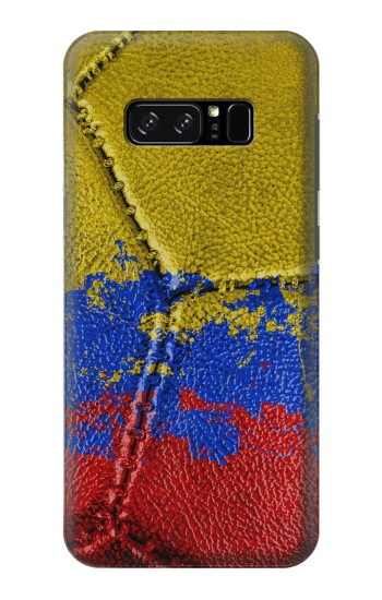 Printed Colombia Flag Vintage Football 2018 HTC Desire 320 Case