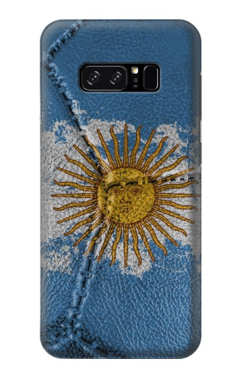 Printed Argentina Flag Vintage Football 2018 HTC Desire 320 Case