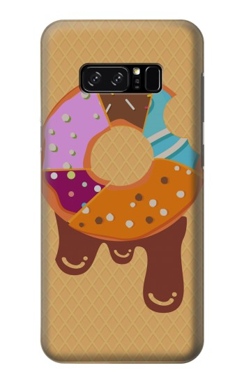 Printed Yummy Donut HTC Desire 320 Case