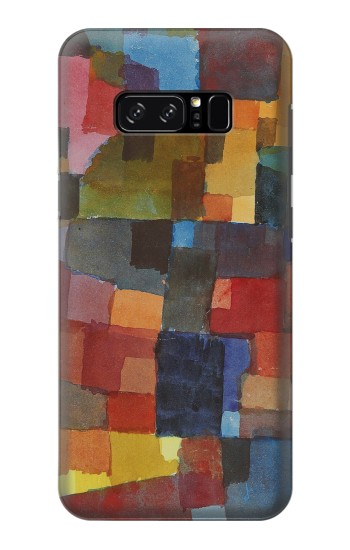 Printed Paul Klee Raumarchitekturen HTC Desire 320 Case