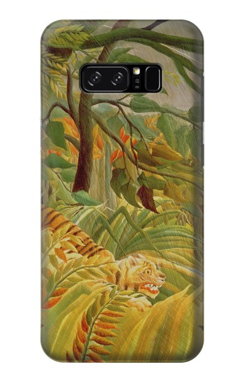 Printed Henri Rousseau Tiger in a Tropical Storm HTC Desire 320 Case