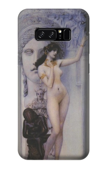 Printed Gustav Klimt Allegory of Sculpture HTC Desire 320 Case