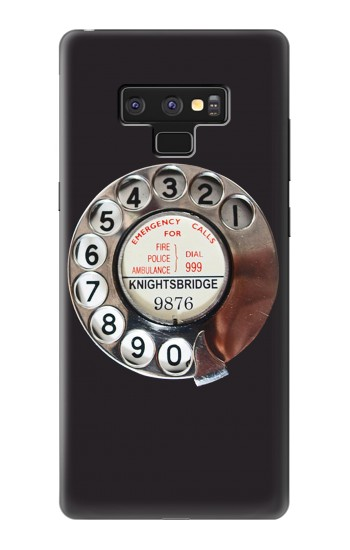 Printed Retro Rotary Phone Dial On Samsung Note9 Case